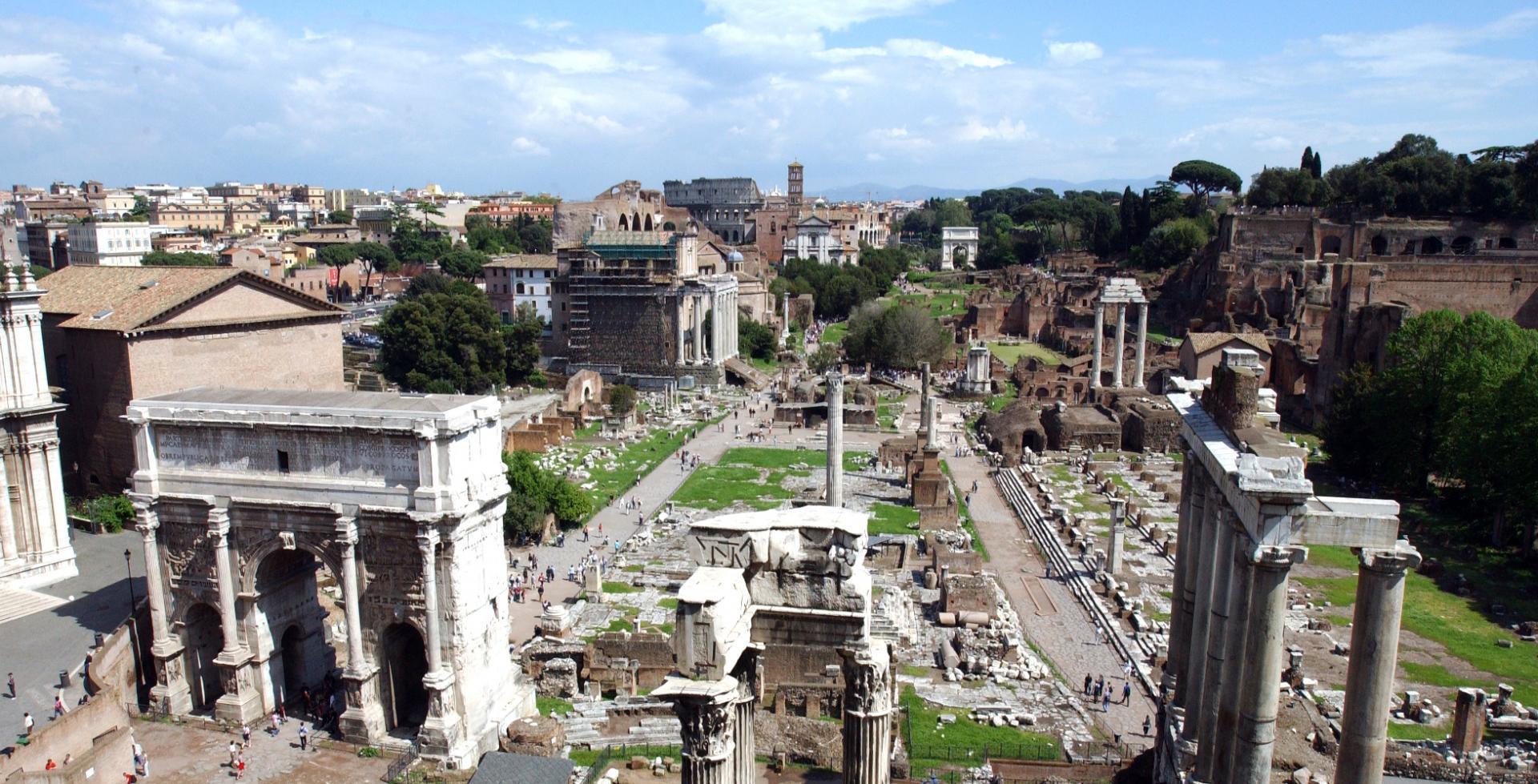 Ancient Rome stones