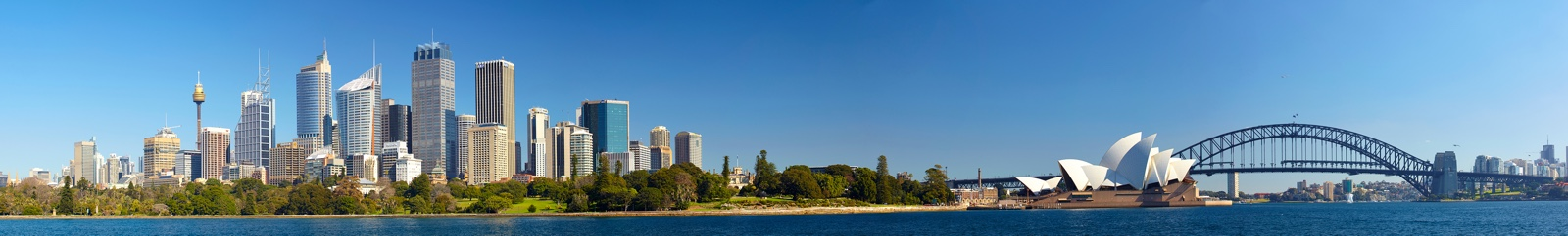 Panoramic sight of City of Sydney