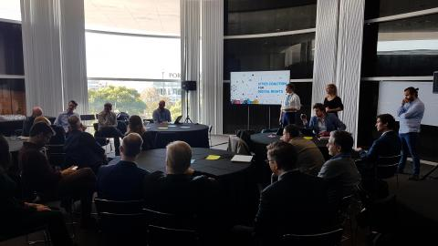 Cities Coalition for Digital Rights Workshop at the Barcelona Smart City Expo World Congess 2019. Definition of strategy 2020
